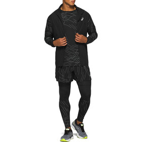 asics Night Track Giacca Uomo, night track black